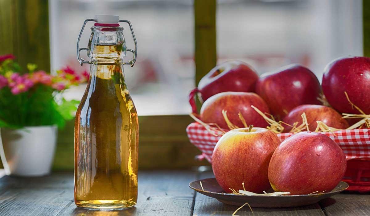 كيف أستعمل خل التفاح لإزالة الكرش