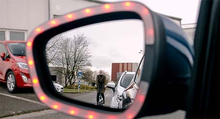 مرآة السيارة الجديد