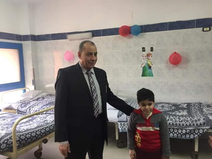 افتتاح وحدة أمراض الدم بمستشفى المبرة في الزقازيق