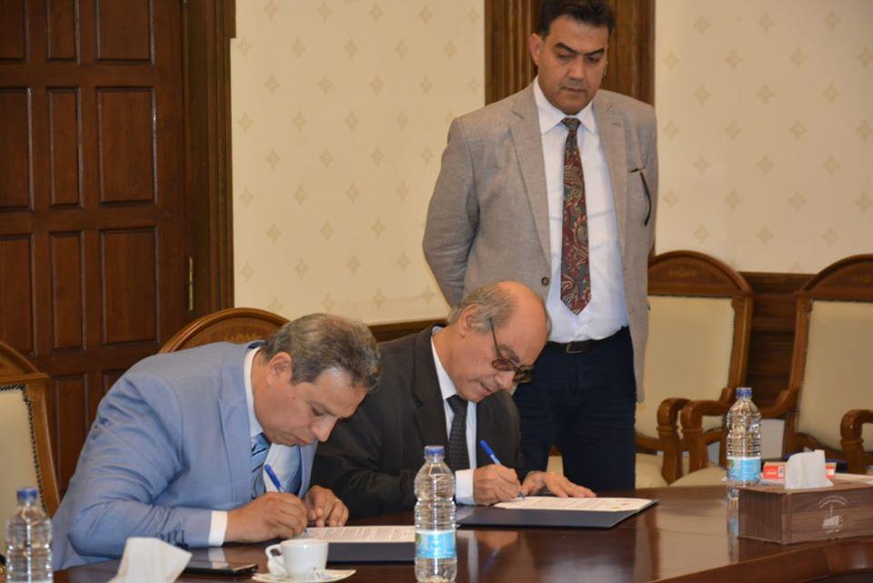 توقيع بنود الاتفاق