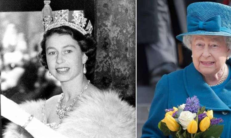 صورة الملكة إليزابيث الثانية تحتفل بعيد ميلادها الـ 94