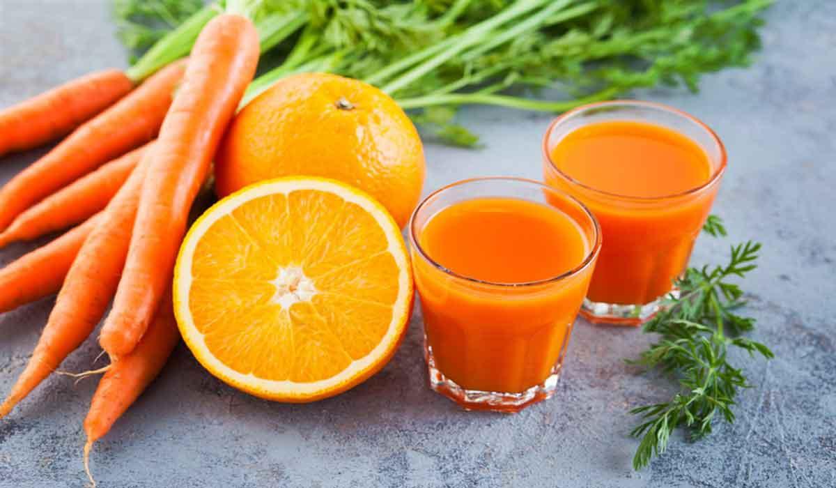 فوائد الجزر والبرتقال