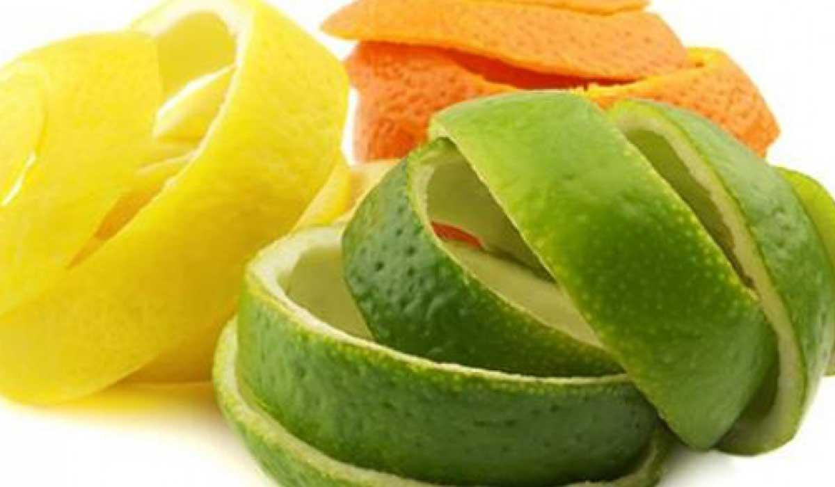 فوائد قشور الفاكهة
