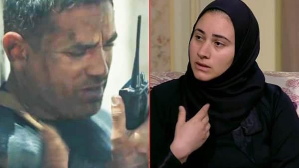 صورة زوجة الشهيد أحمد المنسي: بنعيط وإحنا بنشوف مسلسل الاختيار