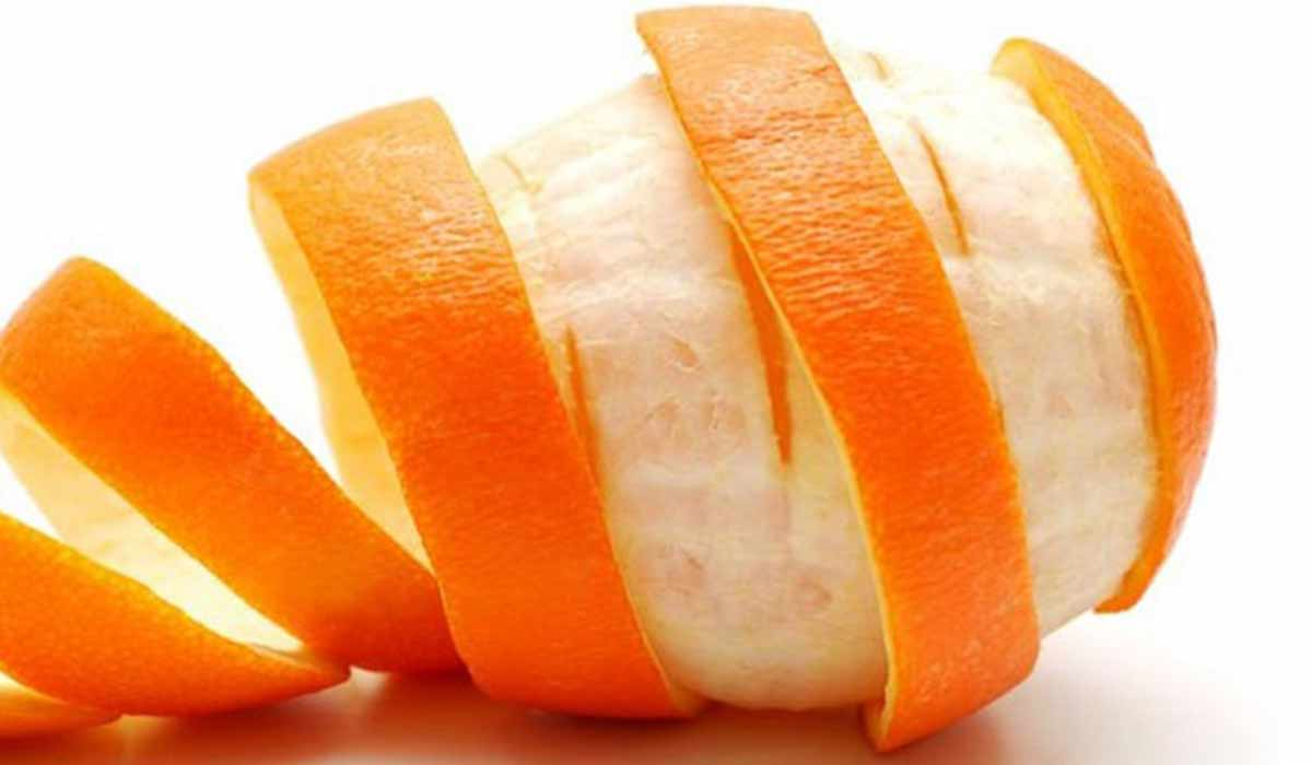 كيف أستفيد من قشر البرتقال