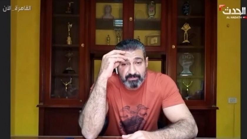 صورة ياسر جلال يتعرض لوعكة صحية على الهواء