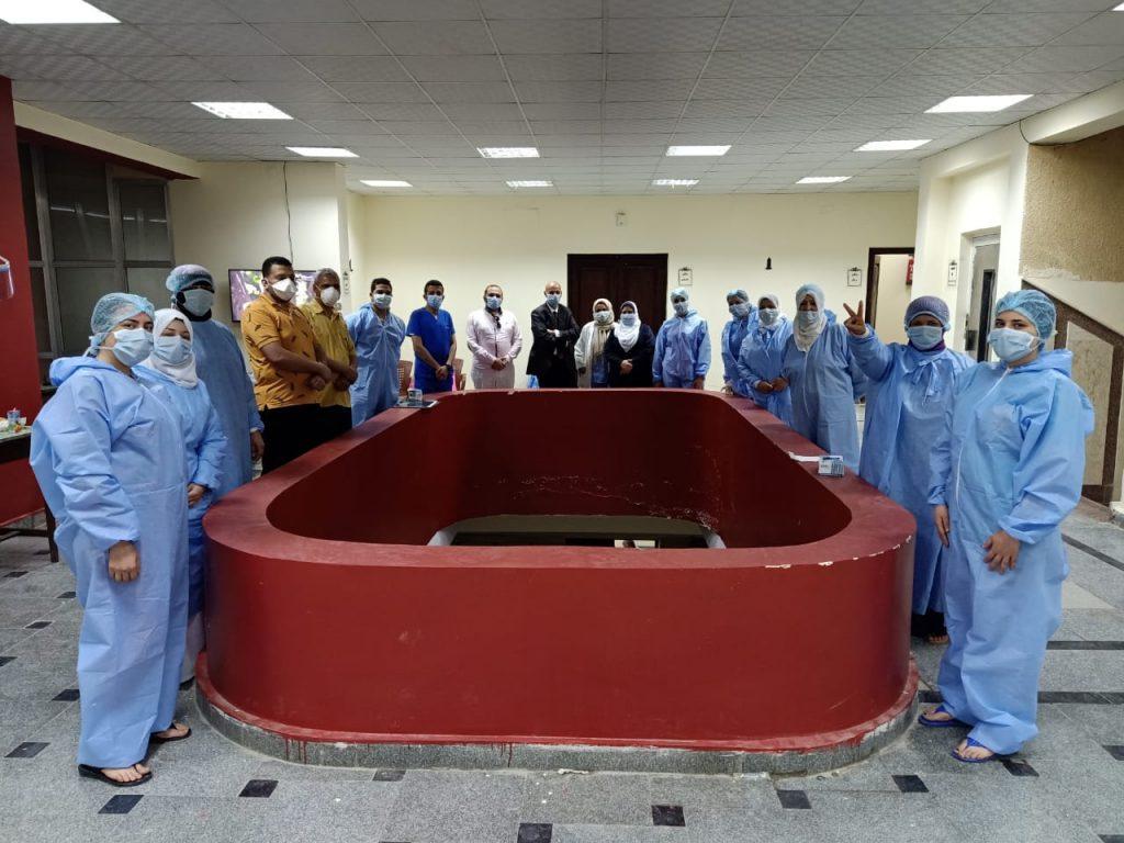 مستشفيات عزل كورونا في الشرقية