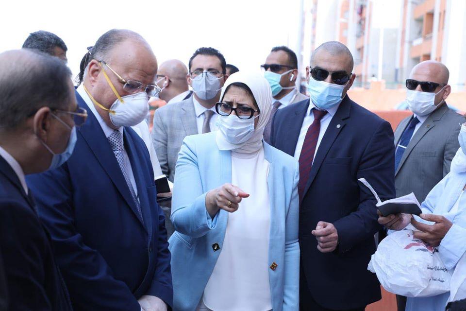 صورة تحذر لمصر من منظمة الصحة وتتوقع ارتفاع الإصابة وبداية الموجة الثانية الأسابيع المقبلة 