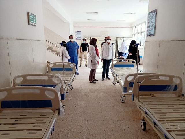مفاجئة لوكيل وزارة الصحة بالشرقية في مستشفيات الصالحية الجديدة والقرين 1