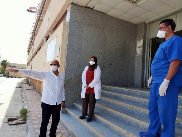 مفاجئة لوكيل وزارة الصحة بالشرقية في مستشفيات الصالحية الجديدة والقرين 2