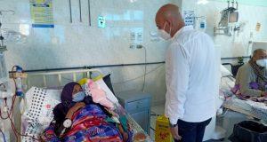 جولة مفاجئة لوكيل وزارة الصحة بالشرقية في مستشفيات الصالحية الجديدة والقرين
