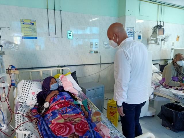 صورة جولة مفاجئة لوكيل وزارة الصحة بالشرقية في مستشفيات الصالحية الجديدة والقرين