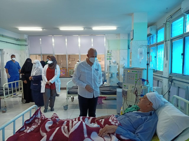 مفاجئة لوكيل وزارة الصحة بالشرقية في مستشفيات الصالحية الجديدة والقرين 4