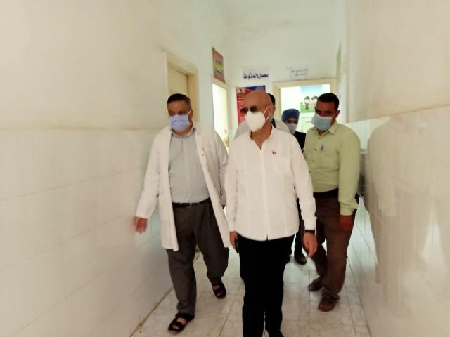 مفاجئة لوكيل وزارة الصحة بالشرقية في مستشفيات الصالحية الجديدة والقرين 7
