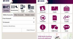 تطبيق بنك QNB