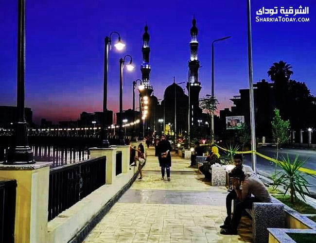 صورة تحذير إلى أهالي محافظة الشرقية من حالة الطقس غدا