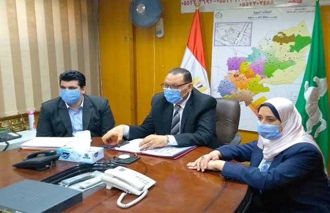 صورة محافظ الشرقية يستقبل 21 شكوى من مرضى كورونا عبر واتس آب