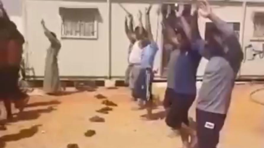 صورة تفاصيل القبض على المتورطين بواقعة فيديو تعذيب المصريين في ليبيا