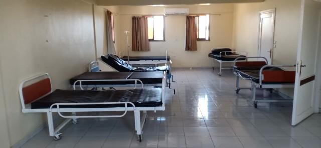 وحدة الغسيل الكلوي والحضانات بمستشفى أبو حماد واستبدالها بأسرة عزل 3