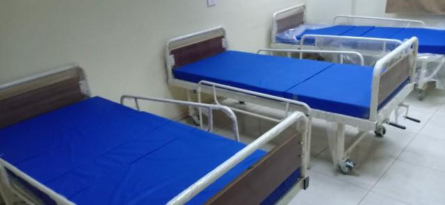 وحدة الغسيل الكلوي والحضانات بمستشفى أبو حماد واستبدالها بأسرة عزل 4