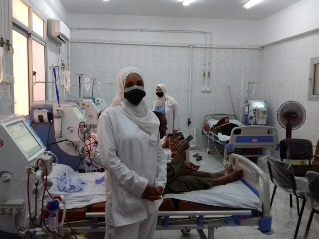 وحدة الغسيل الكلوي والحضانات بمستشفى أبو حماد واستبدالها بأسرة عزل 5