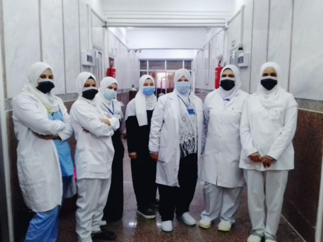 وحدة الغسيل الكلوي والحضانات بمستشفى أبو حماد واستبدالها بأسرة عزل 6