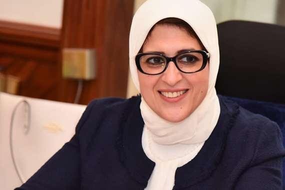 وزيرة الصحة تزف بشرى سارة لحالات كورونا الحرجة وزيادة نسب الشفاء والخروج من المستشفيات