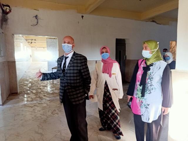 وكيل صحة الشرقية يشدد على سرعة الإنتهاء من أعمال تطوير مستشفى الصدر بالزقازيق