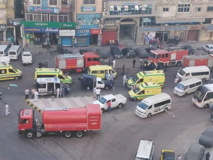 صورة قرارات عاجلة للنيابة بعد مصرع 7 مصابين بكورونا في حريق مستشفى