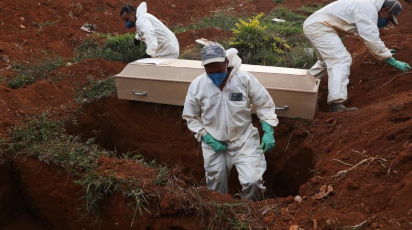 صورة البرازيل تسجل رقما قياسيًا في عدد الوفيات بفيروس كورونا
