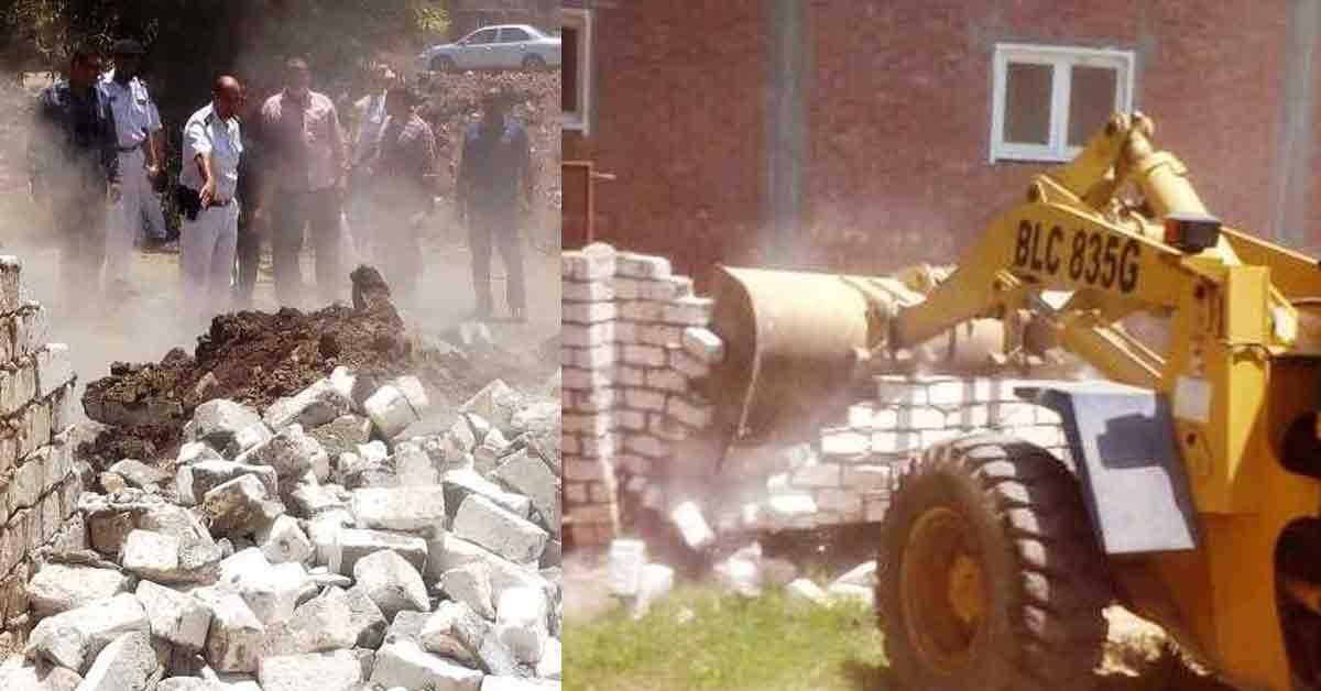 صورة موعد بدء حملات الإزالة على المباني المخالفة