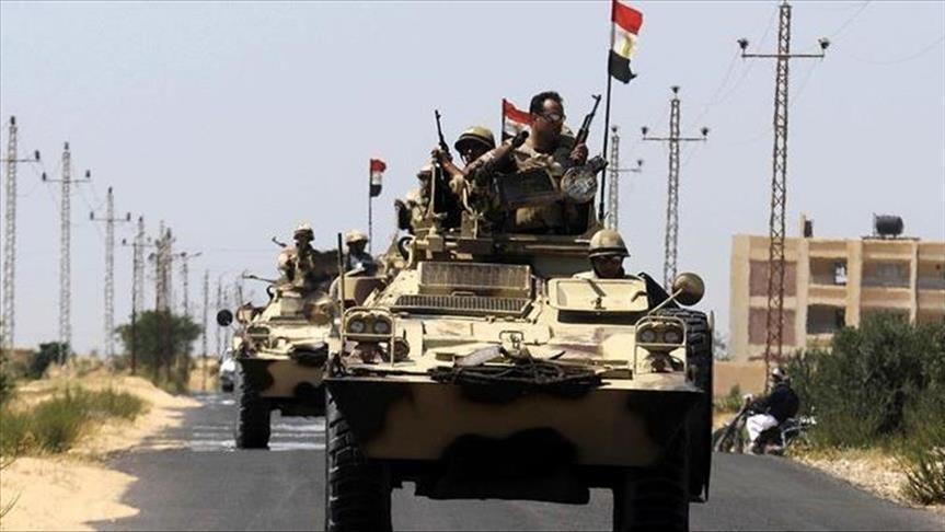 صورة القوات المسلحة تحبط هجوم إرهابي بسيناء