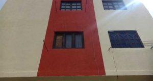طلاء واجهات المباني