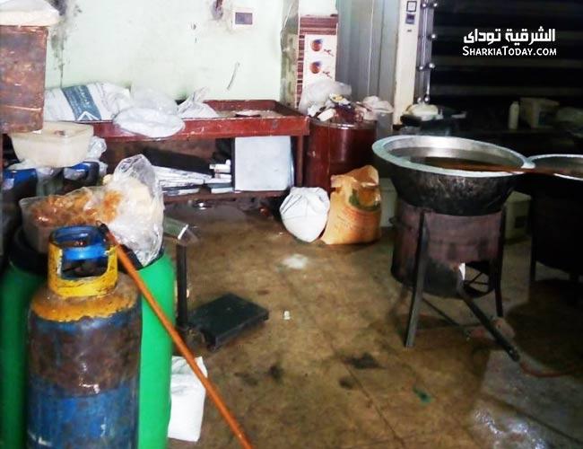 صورة غلق 16 مطعم ومخبز في الشرقية تشكل خطر على المواطنين