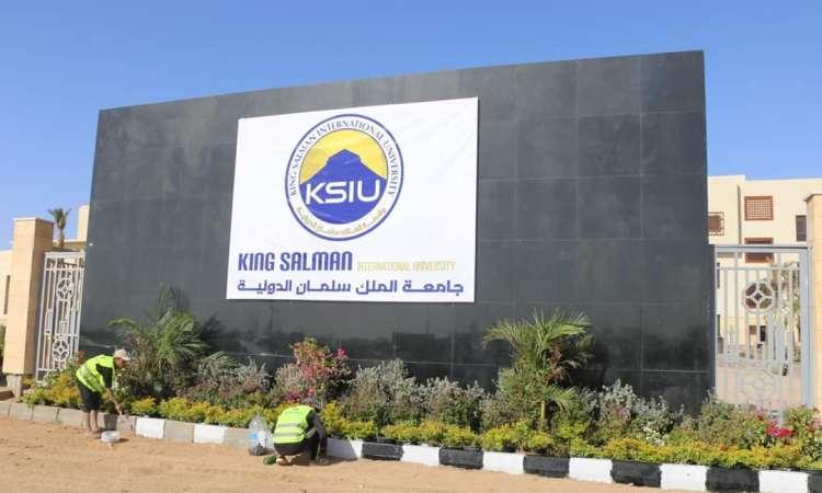 جامعة الملك سلمان الدولية 2020