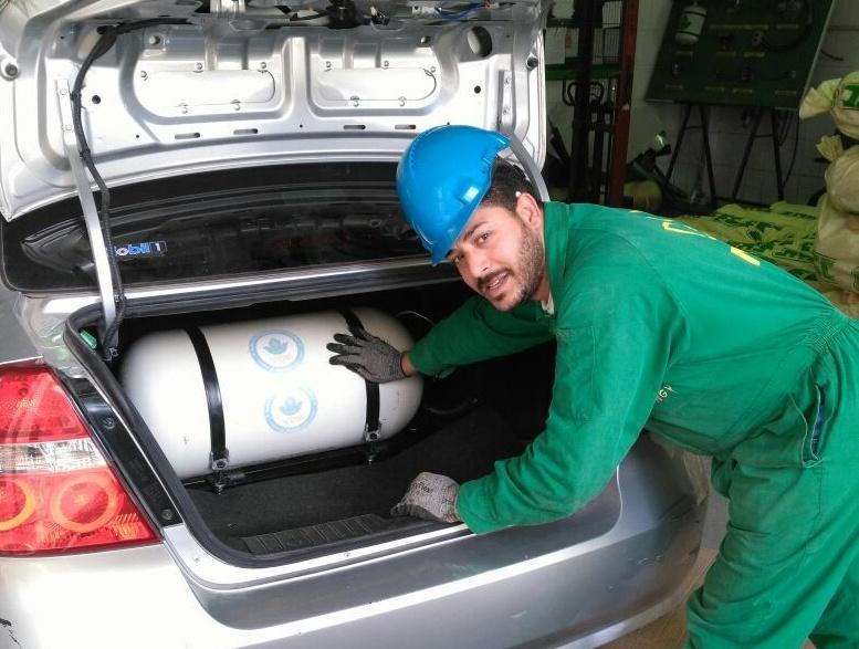 صورة تكلفة تحويل السيارات من البنزين إلى الغاز الطبيعي