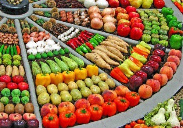"""صورة أسعار الخضروات والفاكهة اليوم"""" العنب البناتي 8 جنيه"""