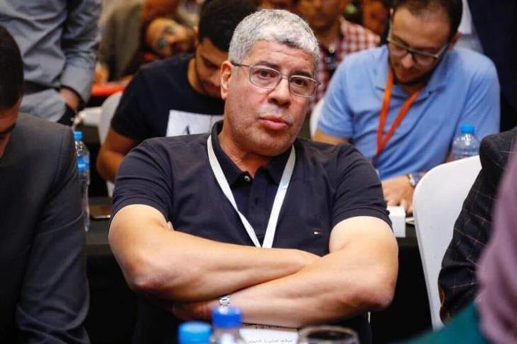 صورة أحمد شوبير يعلن حارس مرمى الزمالك السابق