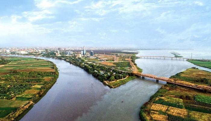 صورة الري السودانية تتوقع انخفاض منسوب النيل