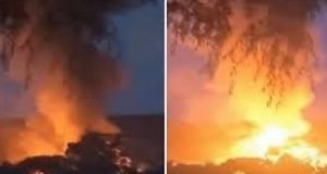 انفجار هائل بكوريا الشمالية