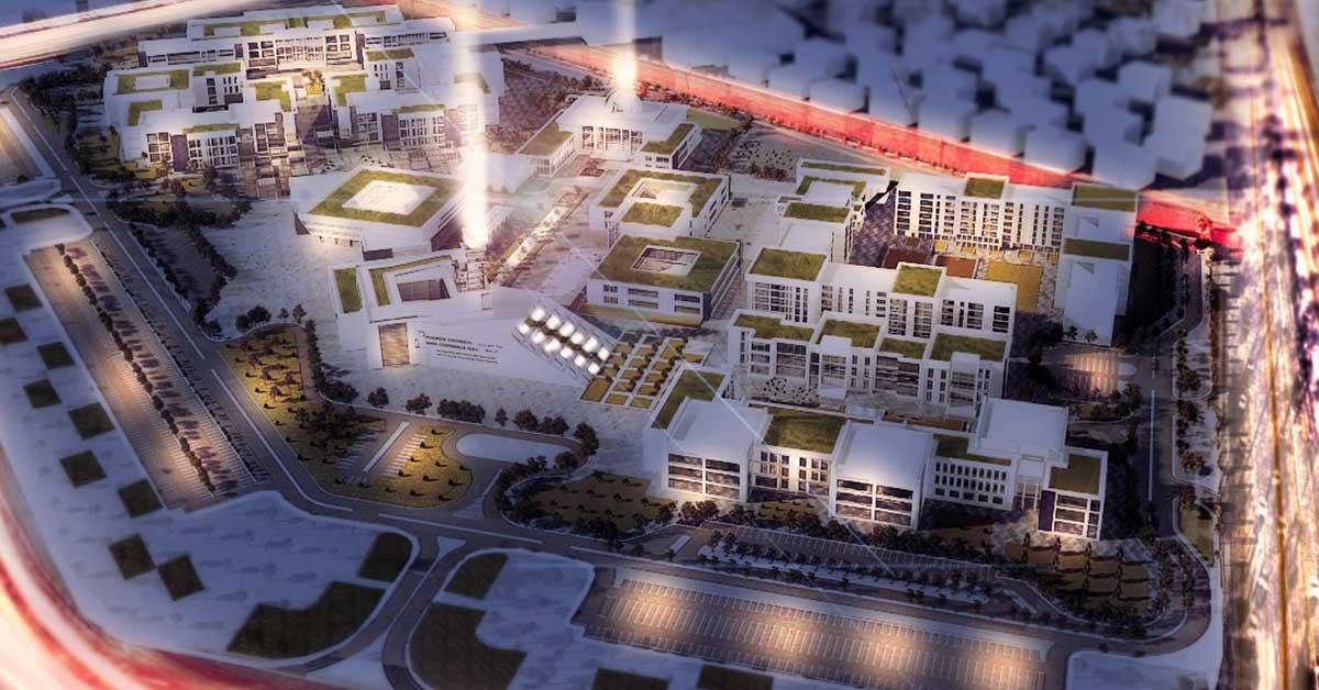 صورة تنسيق جامعة العلمين 2020-2021 والكليات المتاحة والعنوان والتليفون