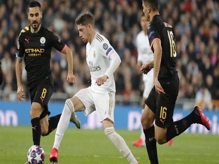 صورة قناة مفتوحة تنقل مباراة ريال مدريد ومانشستر سيتي