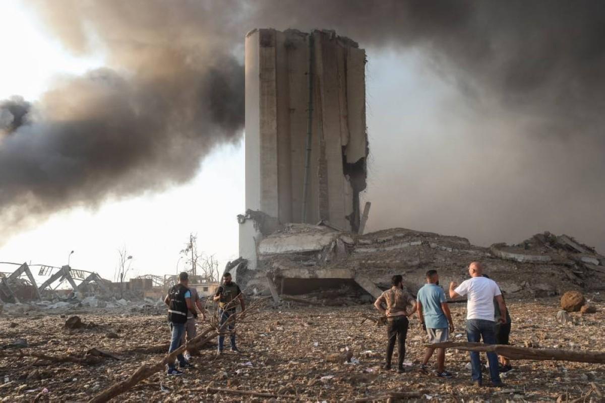 صورة ما هي نترات الأمونيوم المسببة لانفجار بيروت الهائل