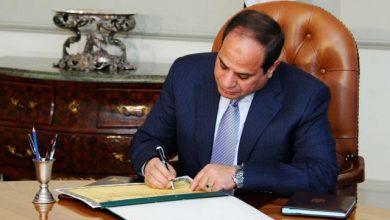 صورة السيسي يصدر 10 قرارات جمهورية جديدة