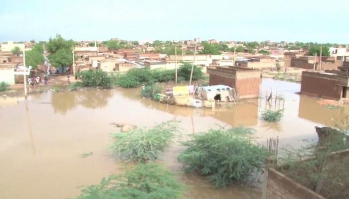 صورة انهيار 19 ألف منزل خسائر فيضانات السودان وتشرد مئات الأهالي