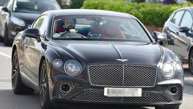 صورة محمد صلاح يتعرض لحادث سير في إنجلترا