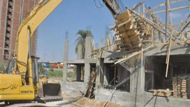 صورة مخالفات بناء يحظر التصالح فيها بأمر من القانون