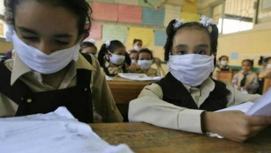 عدد إصابات كورونا في المدارس