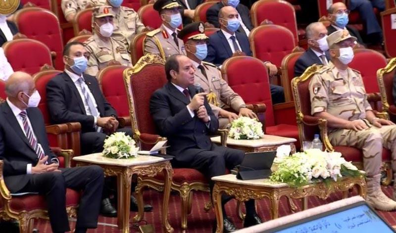 السيسي للمصريين