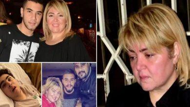 صورة انهيار مها أحمد من البكاء: محرومة ألمس ابني واتدمرت وهذا مرض ابنها